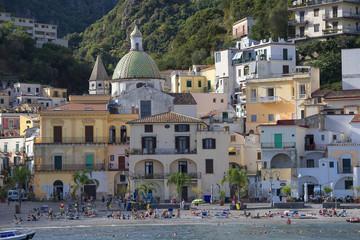 Amalfi Coast; Cetara, a fishermen village near Vietri.