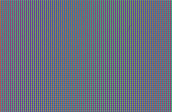 Macro shot of computer screen, pixels texture