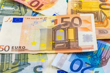 Money Euro Bank Notes European Currency