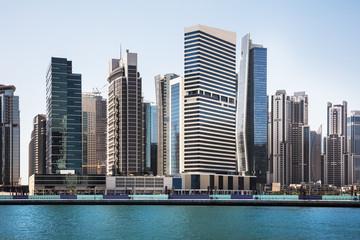 Aluminium Prints Dubai Dubai Business Bay Skyline