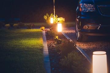House Driveway Illumination