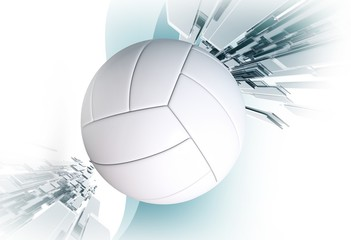 Volleyball Sport Event Concept
