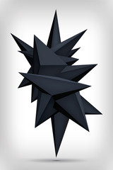 Volume geometric shape, 3d