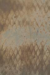 Texture: Diamond Rust Pattern on Metal