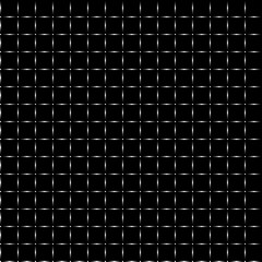Seamless pattern in a cage on a black background, vector