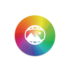 Color Circle - App Push-Button