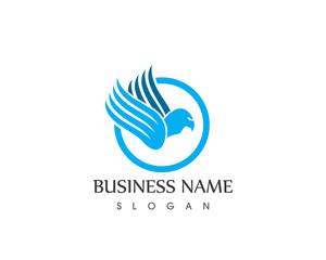 Eagle Symbol Logo Design Template
