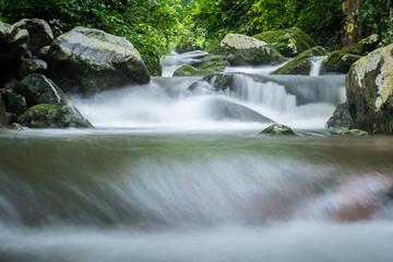 Foto op Canvas Krok E-Dok Waterfall Saraburi, Thailand