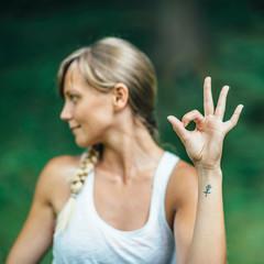 Yoga Mudra Hand Sign