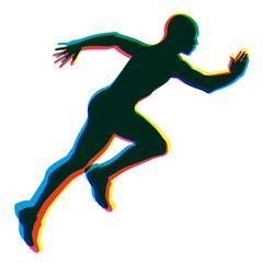 coureur - sprint - sprinter - course - sport
