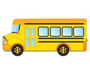 Vector School Bus