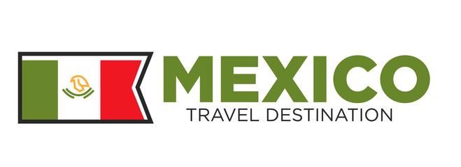 Mexico travel destination banner