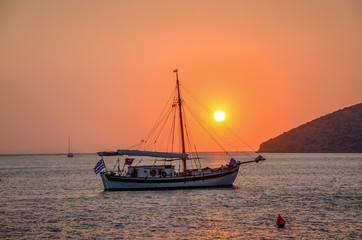 Katapola, Amorgos island. Greece