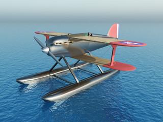 US-Amerikanisches Wasserflugzeug aus den 1920er Jahren