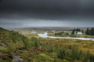 Thingvellir National Park, Island