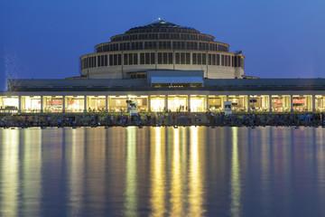 Centennial Hall at Night