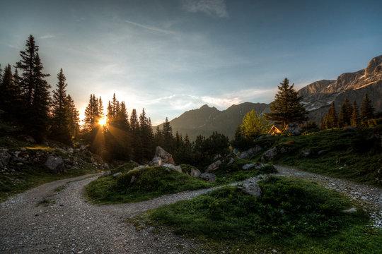 Montafon Mountains