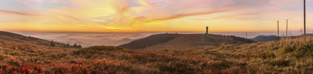 Feldberg Panorama Sunrise