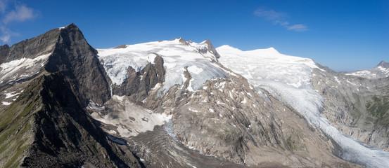 Gipfelpanorama auf dem Inneren Knorrkogel (2884 m), Hohe Tauern
