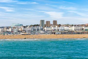 Keuken foto achterwand Tunesië View of Brighton Beach, England