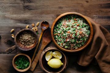 Quinoa bacon salad
