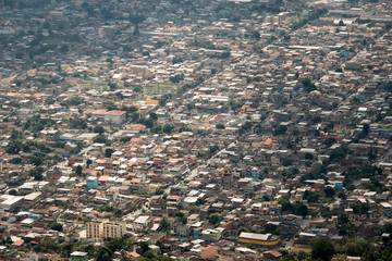 Aerial View of Buildings in Realengo, One of Many Rio de Janeiro Suburbs