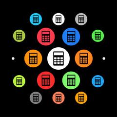 Modernes UI design - Taschenrechner