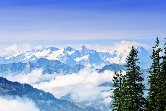 Mount Stanserhorn in Switzerland
