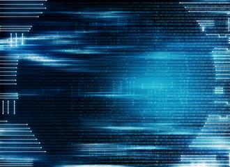 Global futuristic tech background