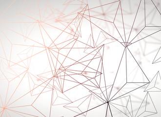Light polygonal background