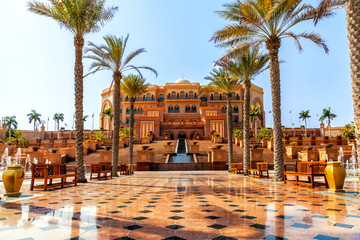Canvas Prints Abu Dhabi Emirates Palace