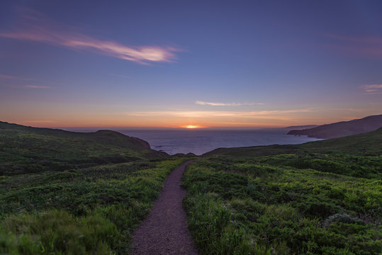 Sunset in the Marin Headlands
