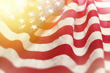 Dreamy USA flag