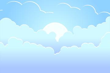 Beautiful blue day