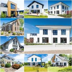 Einfamilienhäuser, Collage