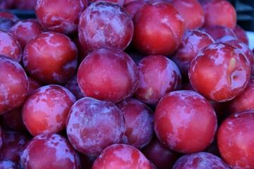Fresh ripe plum