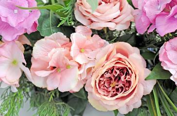 eautiful pink flower vintage style