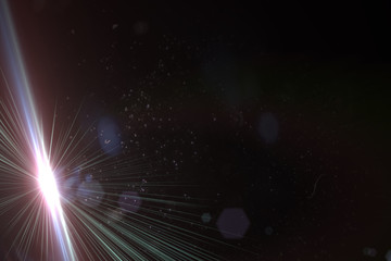 Magic abstract space rays background (very high resolution)