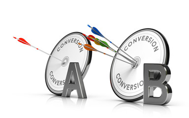 A/B Testing or Split Test. Optimizing a Web Page to Increase Conversion Rate