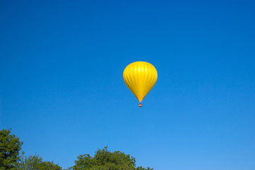 Colorful Balloons flying in Festive Party