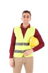 smiling engineer