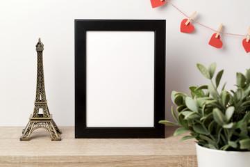 Black frame mock up