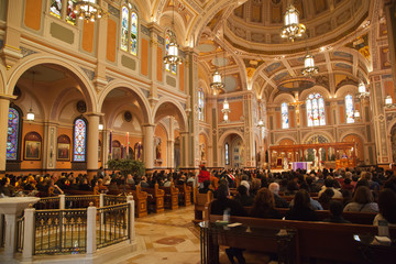 Cathedral of the Blessed Sacrament in Sacramento California.