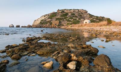 Coastal rocky area