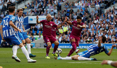 Premier League - Brighton & Hove Albion vs Manchester City