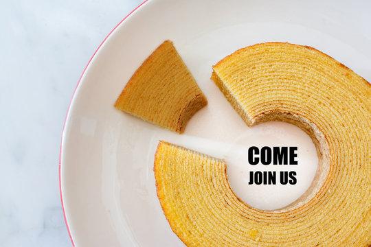 Job Recruiting & Roll Cake