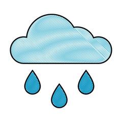 Cloud weather symbol