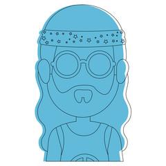 hippie style design