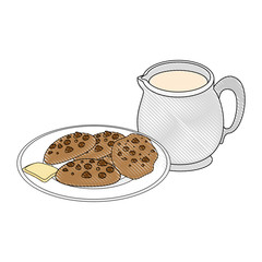 chocolate chips cookie icon