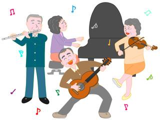 高齢者のコンサート